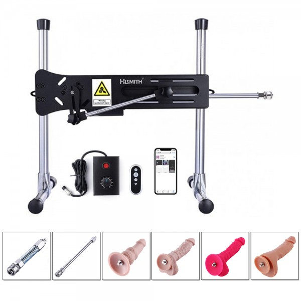 Hismith Premium Sex Machine With Bundle Attachments - Wireless App Controlled With Remote