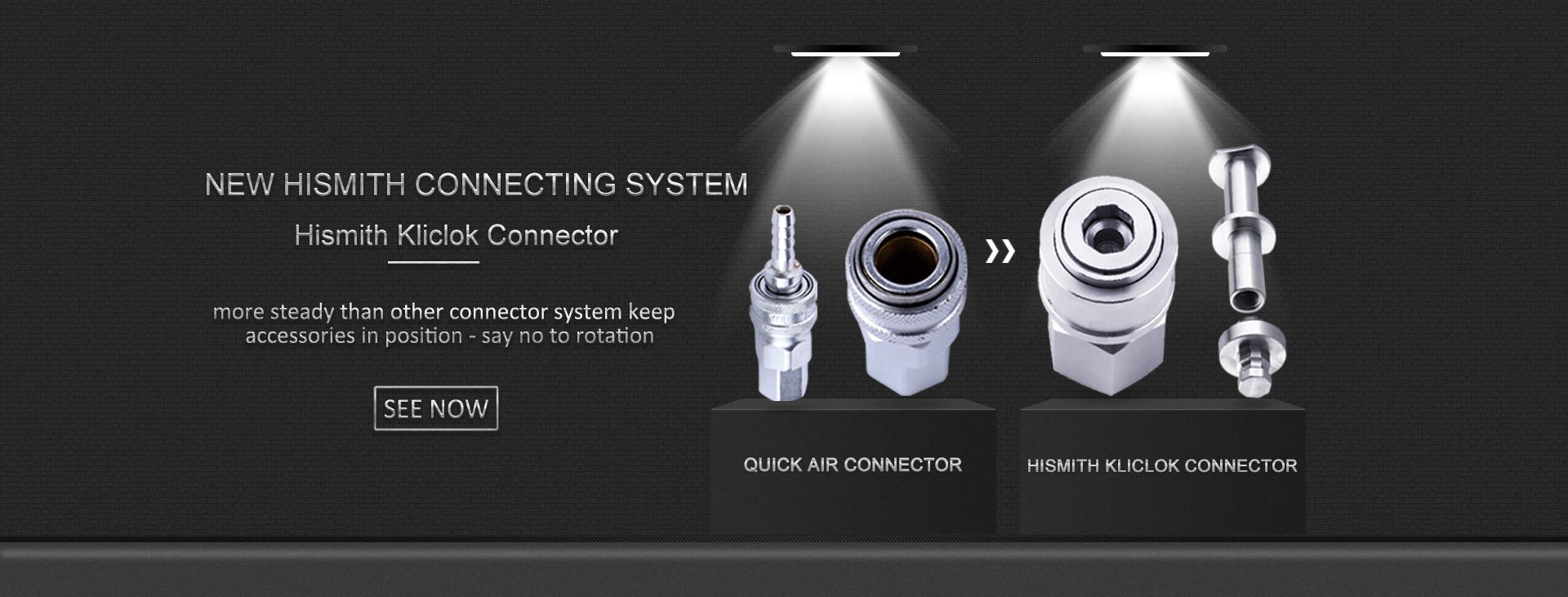 All New Hismith KlicLok Connecting System